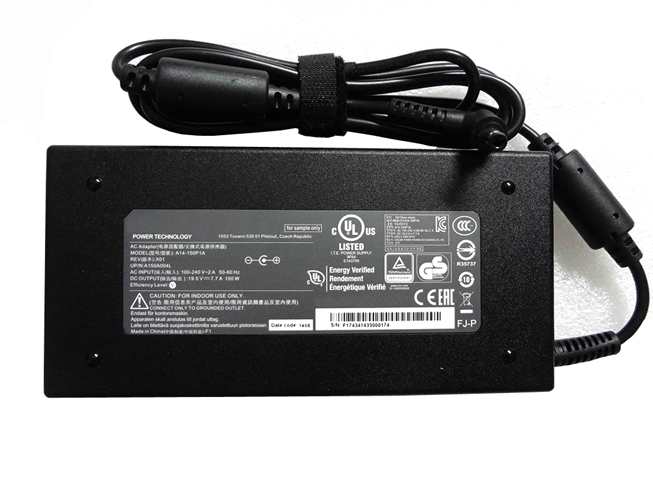Batterie pour 100-240V~2.7A  50-60Hz (for worldwide use) 19.5V   7.7A, 150W Razer 911 911-E1 911-S2a