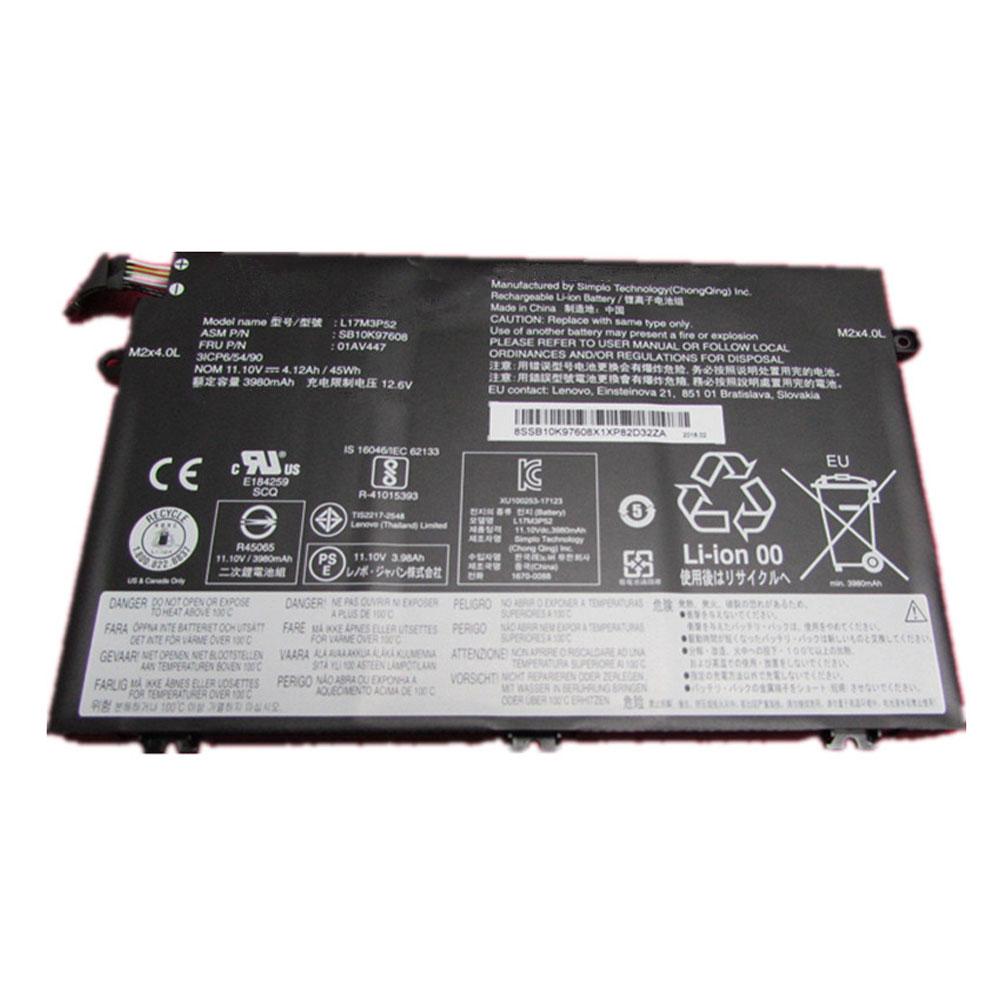 L17M3P52 pc batteria