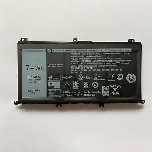 357F9 pc batteria
