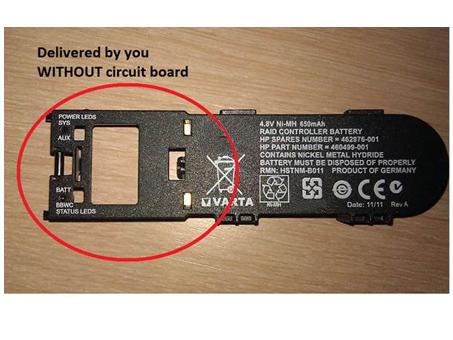 Batterie pour HP 398648-001