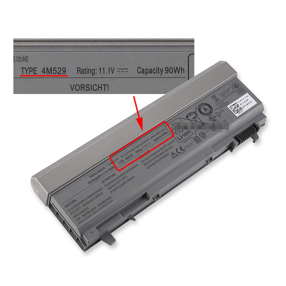 Batterie pour DELL 4M529