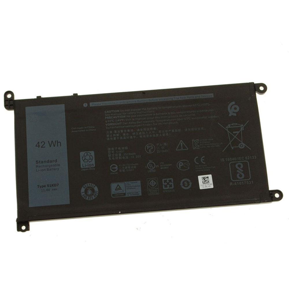 51KD7 pc batteria