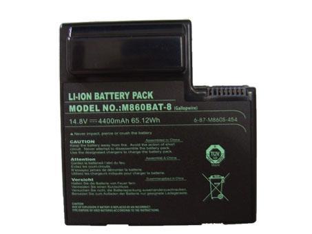 Batterie pour CLEVO 6-87-M860S-454