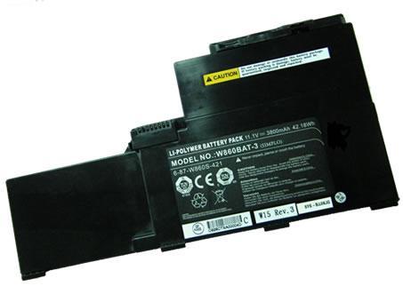 Batterie pour CLEVO 6-87-W87S-421A