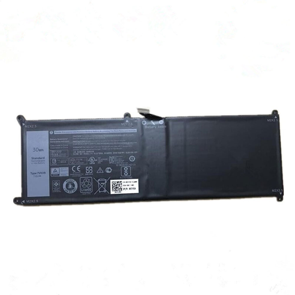 Batterie pour Dell XPS 12 9250 Latitude 12 7275 Series