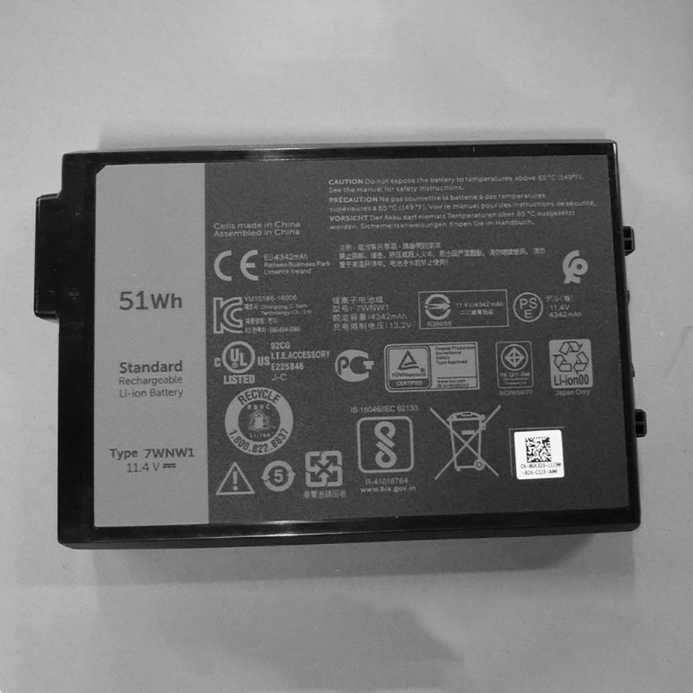 Batterie pour DELL 7WNW1