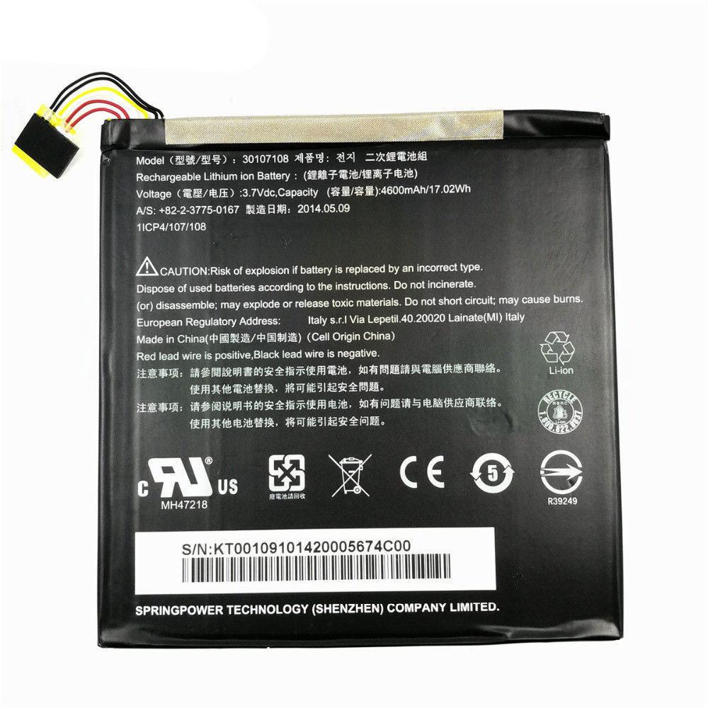 30107108 pc batteria