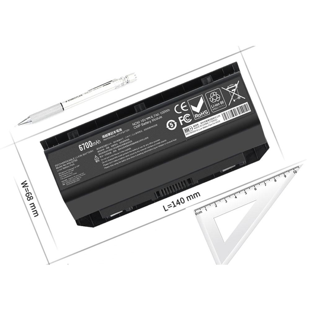 A42-G750 pc batteria