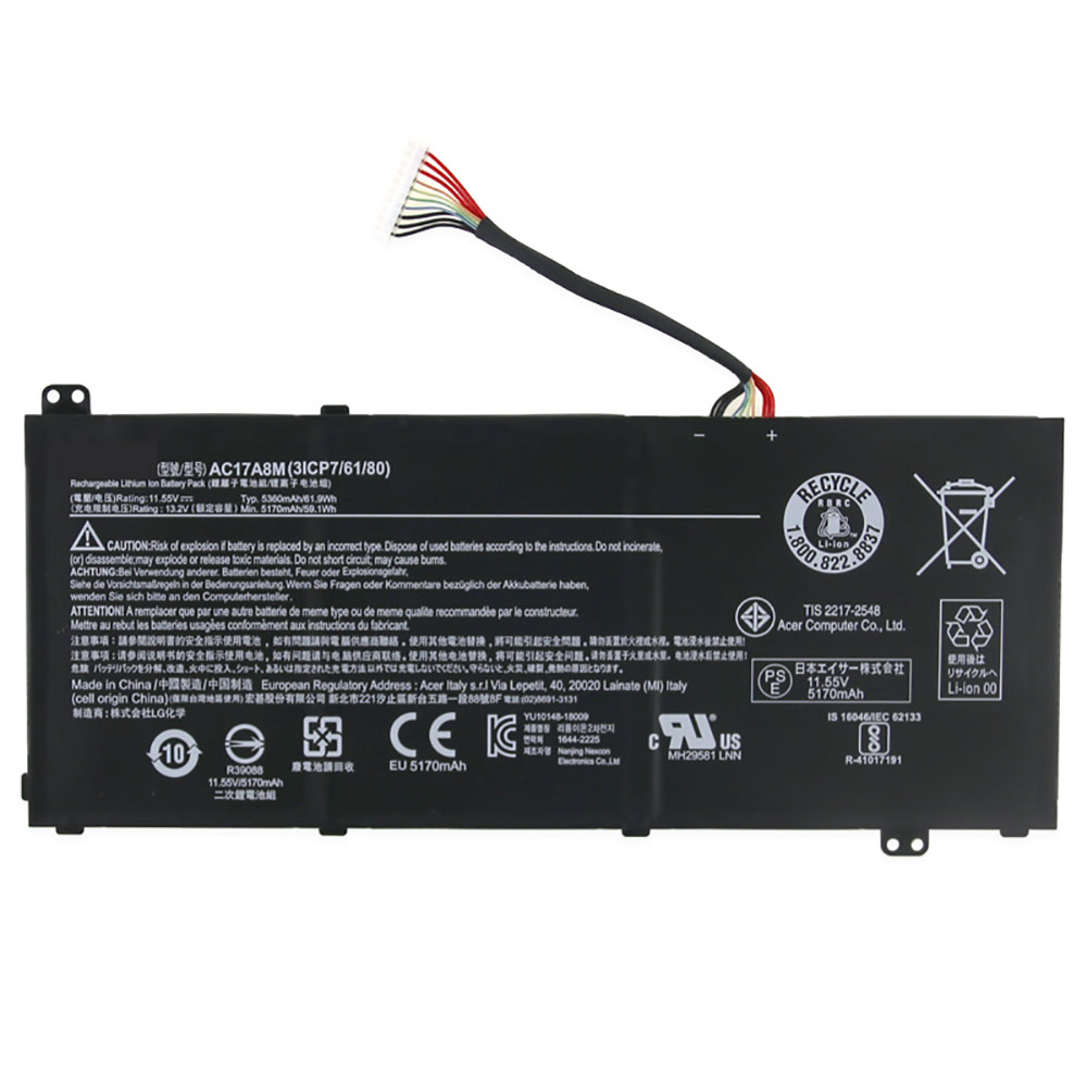 AC17A8M pc batteria