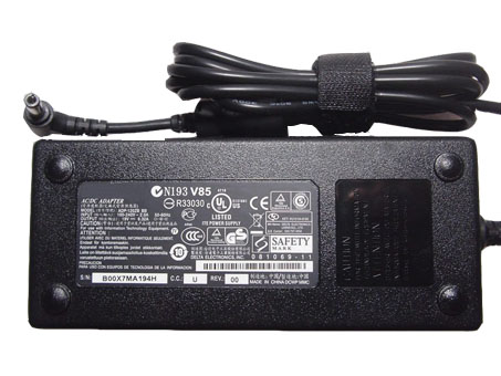 Batterie pour 100-240V  50-60Hz (for worldwide use) 19V 6.32A, 120W 120W AC/DC Power adattatore batteria caricabatterie