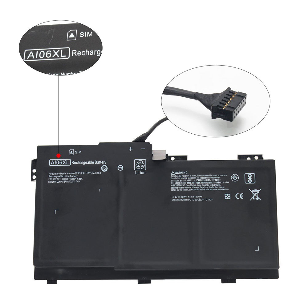AI06XL pc batteria