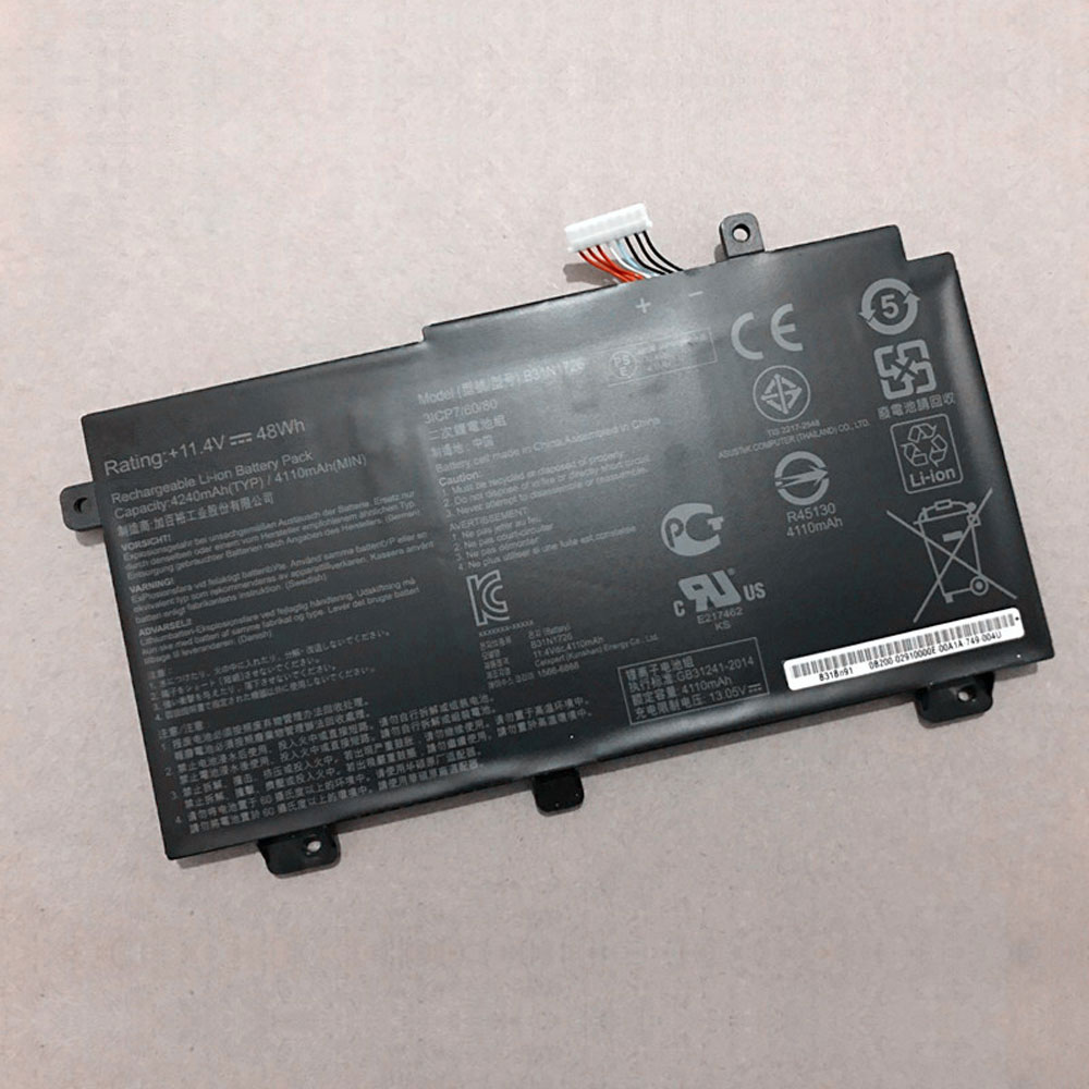 Batterie pour ASUS B31N1726