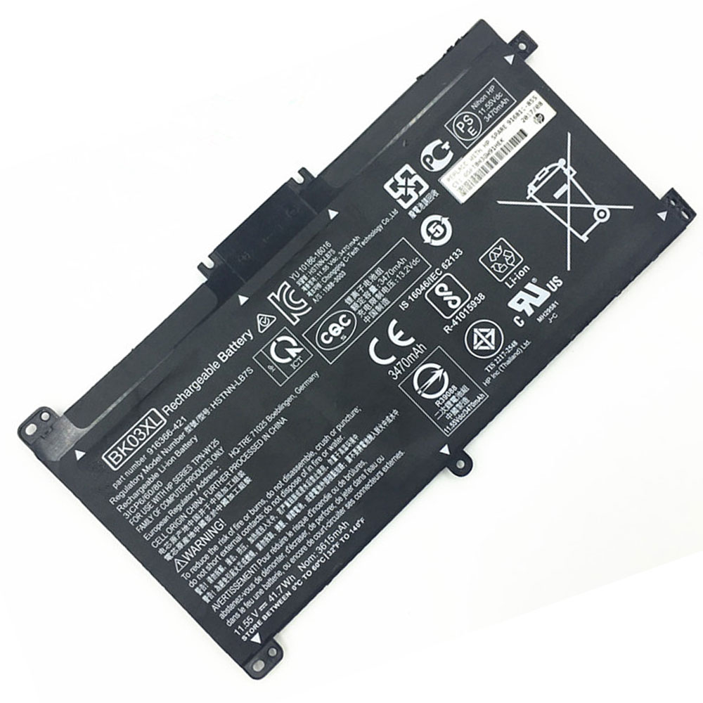 BK03XL pc batteria