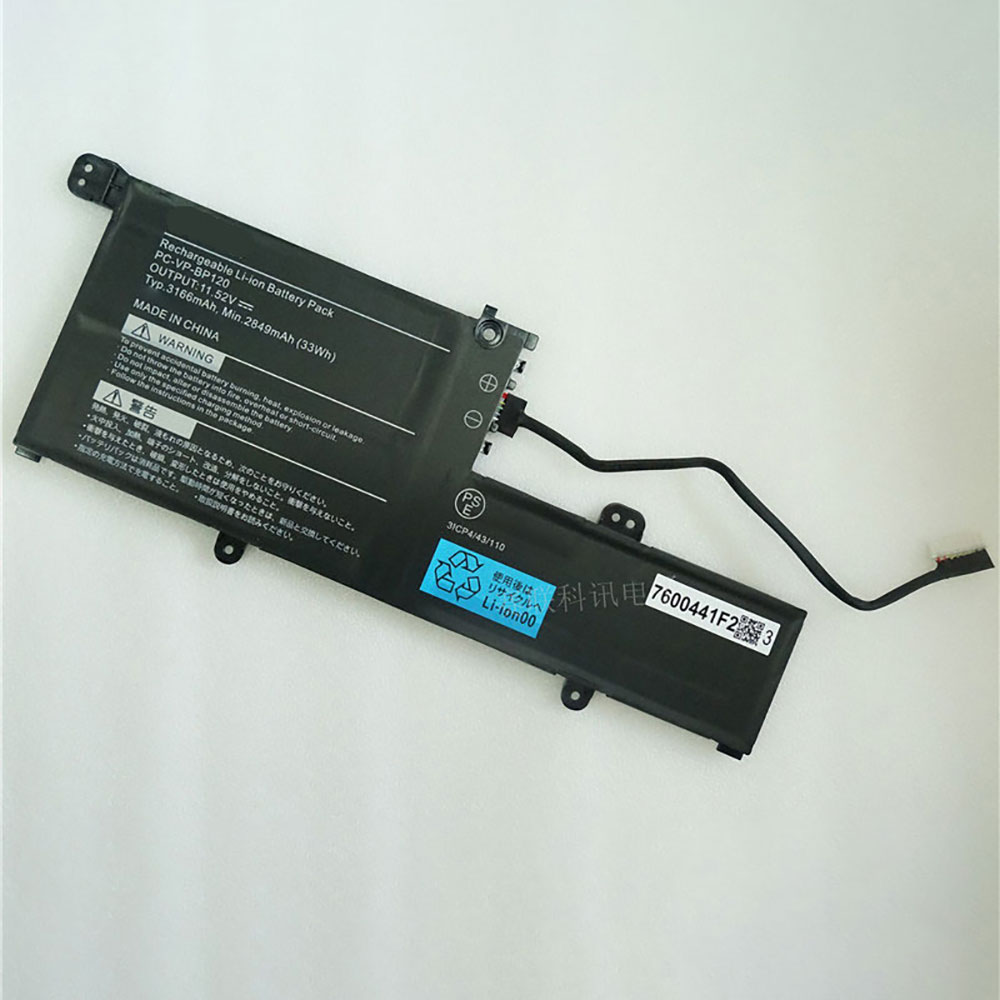 PC-VP-BP120 batteria del computer portatile