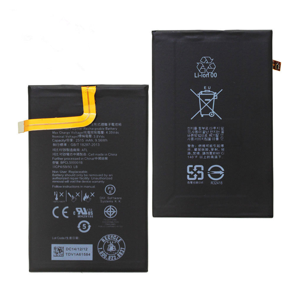 Batterie pour BLACKBERRY BPCLS00001B