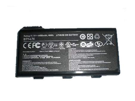 Batterie pour MSI BTY-L74
