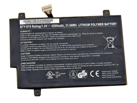 Batterie pour MSI BTY-S19