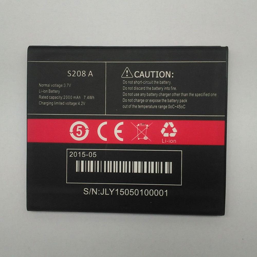 S208A pc batteria