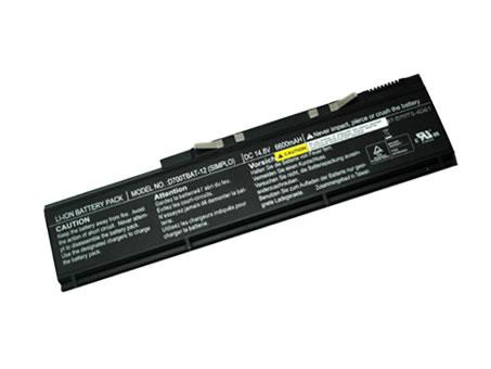 Batterie pour CLEVO D700TBAT-12