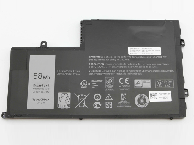 Batterie pour DELL 0PD19