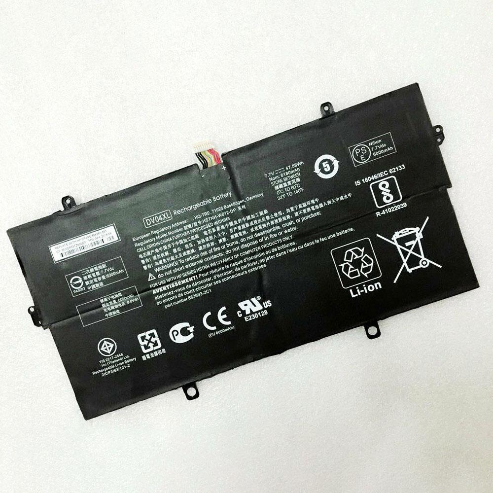 Batterie pour HP DV04XL
