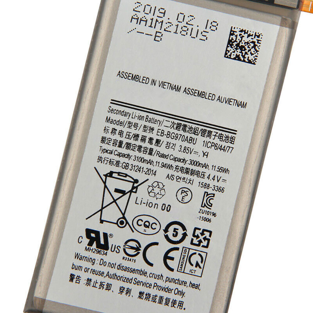 Batterie pour SAMSUNG EB-BG970ABU
