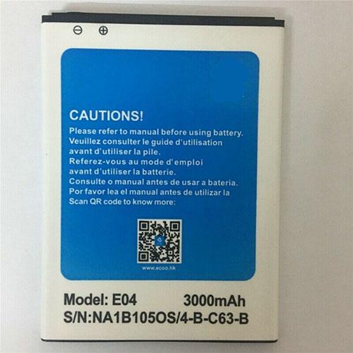 E04 batteria