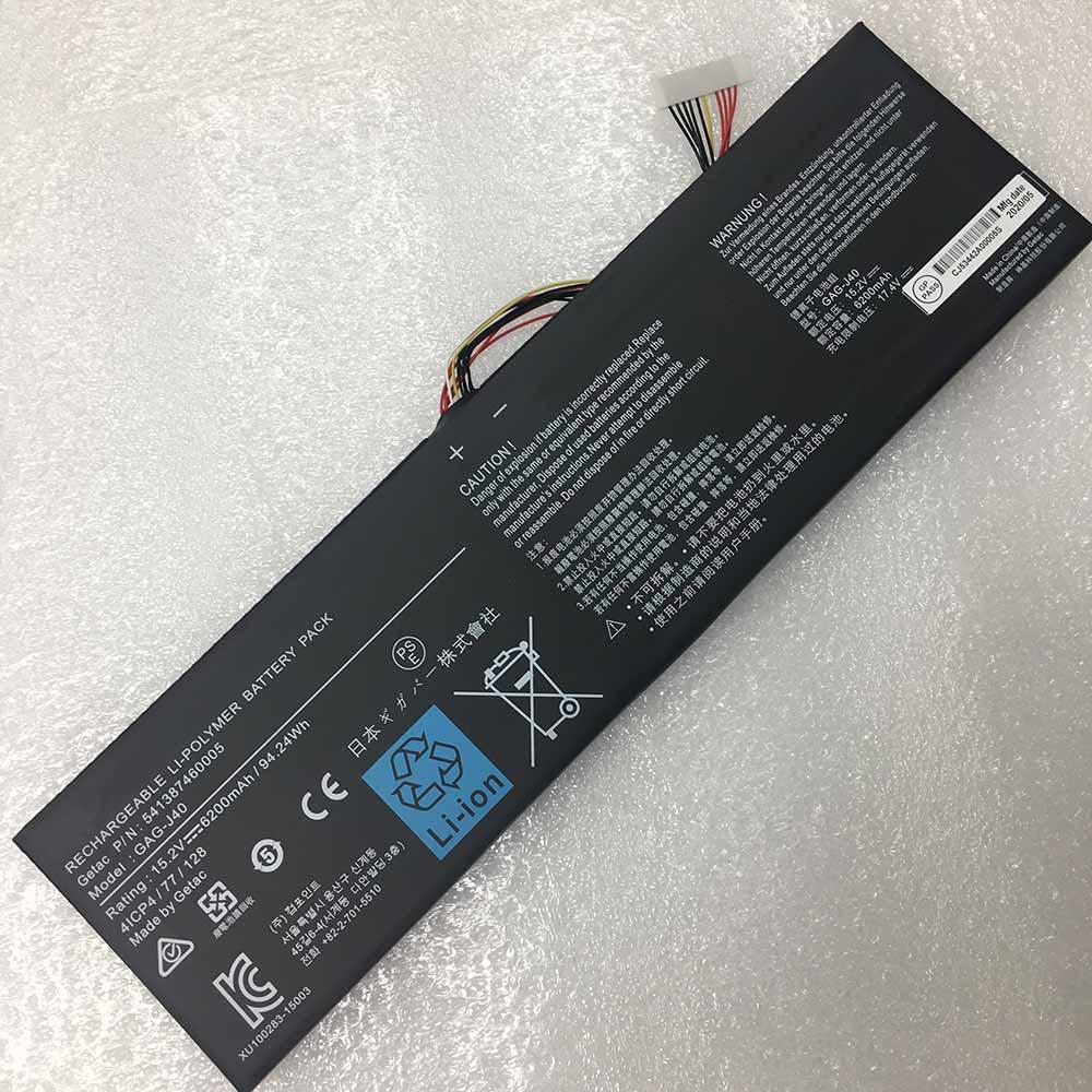 GAG-J40 pc batteria