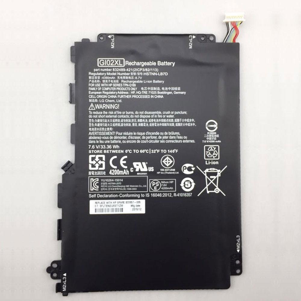 Batterie pour HP GI02XL