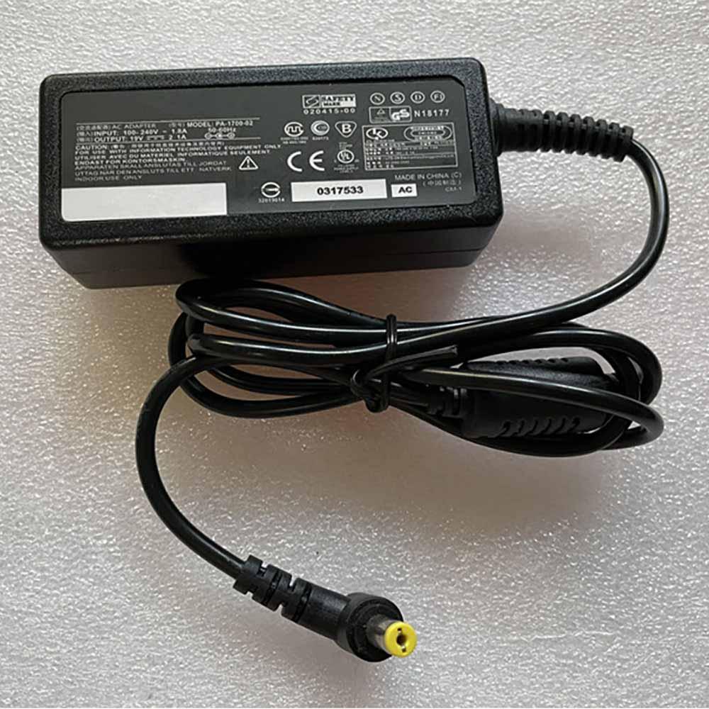 Batterie pour 100-240V 1.8A 50-60Hz 19V 1.58A/2.1A 40W Acer S220HQL G196WL S190WL