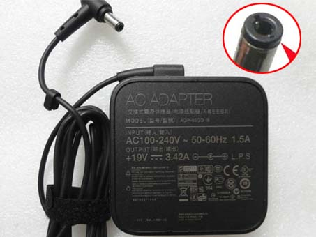 Batterie pour 100-240V  50-60Hz (for worldwide use)  19V  3.42A,65W Asus X551 X551M X551CA X551MA X551MA-DS21Q
