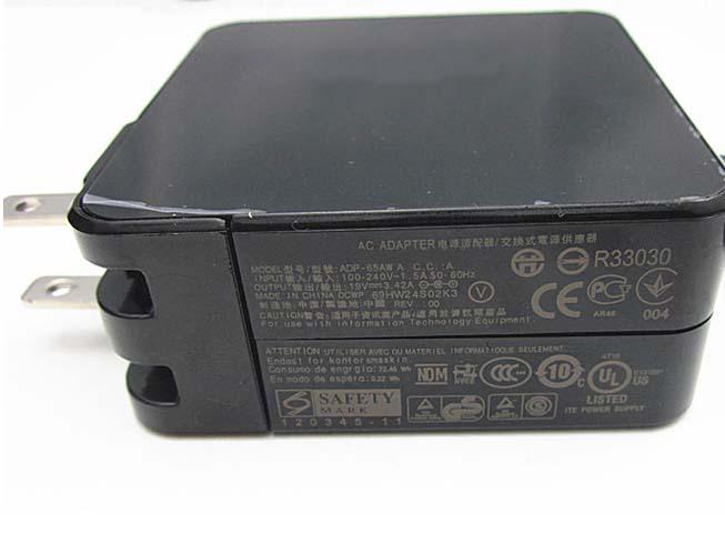 Batterie pour 100 - 240V 1.5A 50-60Hz 19V 3.42A 65W Asus Zenbook Power 65W UX301L UX303LA/LB/LN UX303UA UX303UB