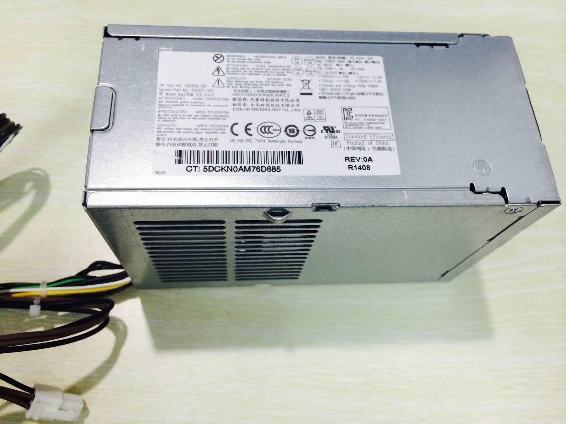 Batterie pour 100-240V~4A  50-60Hz +12Vmain == 16A -12V == 0.15A HP PS-4241-1HC DPS-240AB-3B SFF