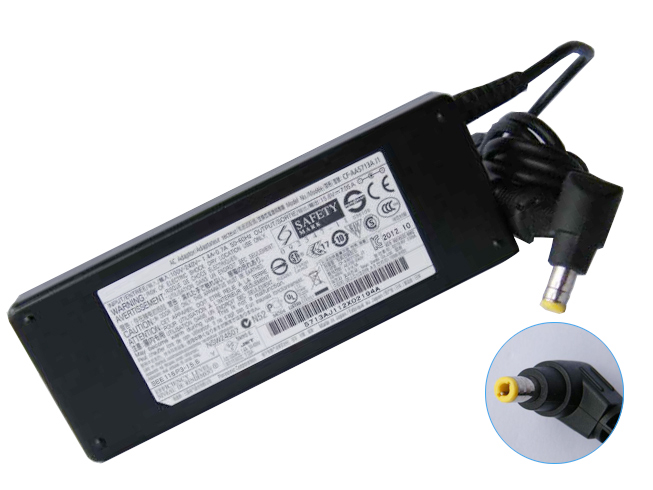 Batterie pour 100-240V 50-60Hz (for worldwide use) 15.6V 7.05A 110W Panasonic Toughbook CF-19 CF31 CF52 CF-53 CF-53S