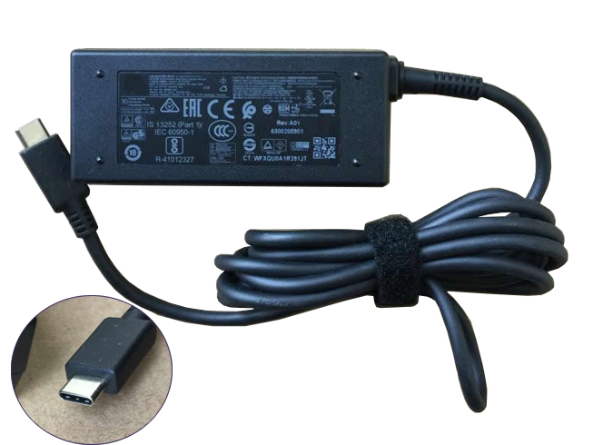 Batterie pour 100-240V  1.4A 50-60Hz (for worldwide use) 5V 2A/12V 3A/15V 3A 45W  (ref to the picture) HP Elite x2 45W USB-C