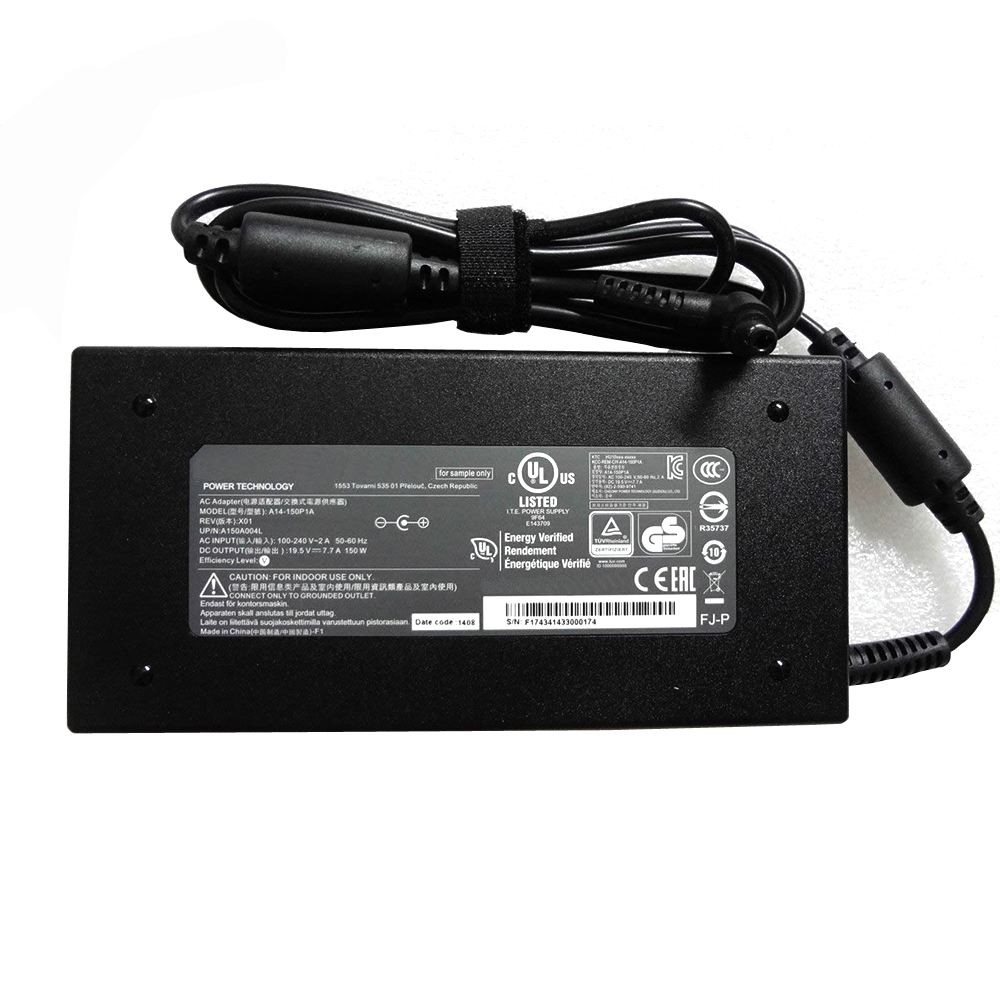 Batterie pour 100-240V~2.7A  50-60Hz (for worldwide use) 19.5V   7.7A, 150W MSI GS70 2QE-083CN