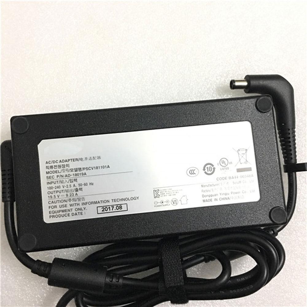 Batterie pour 100-240v V`2.5 A,/ 50-60 Hz 19.5V 9.23A /180W  Samsung 19.5V 9.23A PSCV181101 AD-18019A