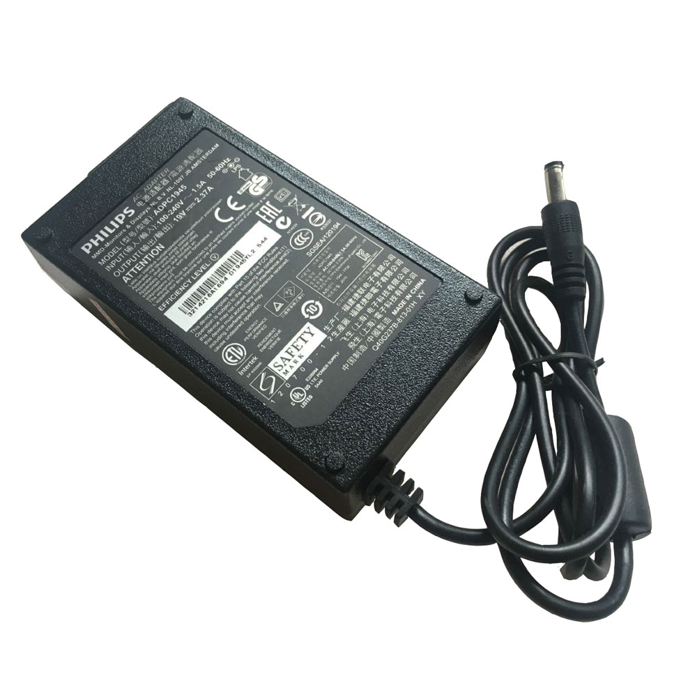 Batterie pour 100-240v V`2.5 A,/ 50-60 Hz 19V 2.37A/45W(compatible with 19v 1.58a /1.84a) philips Monitor Power Supply