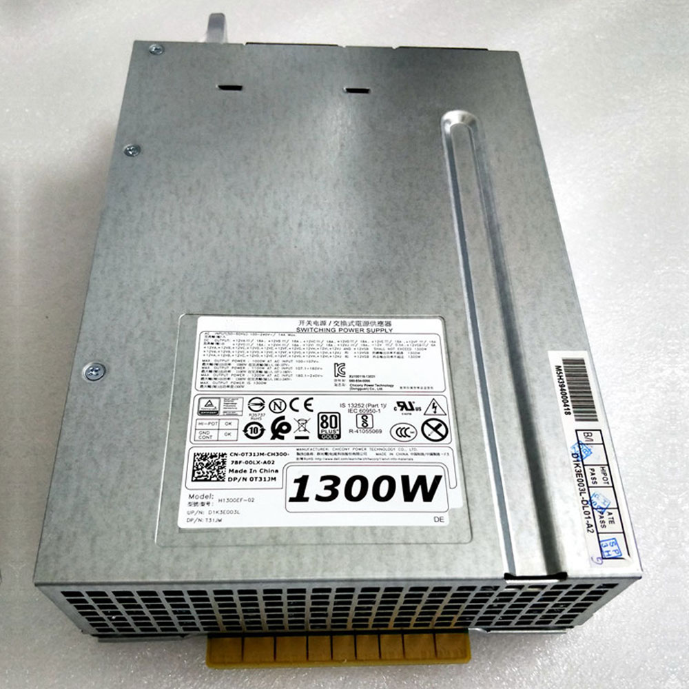 Batterie pour 100-240V~/14A MAX 1000W AT AC INPUT 100-107V Dell Precision T7910 Workstation