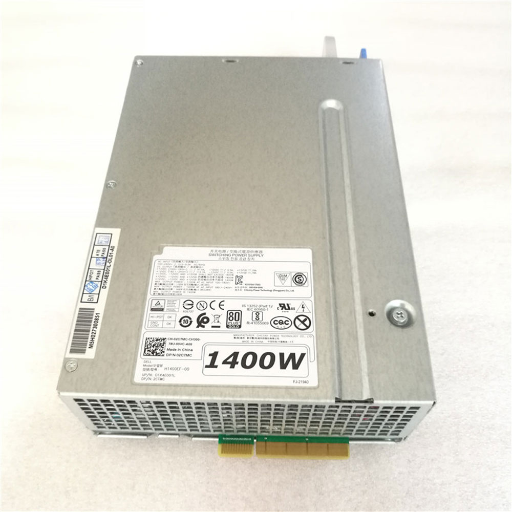 Batterie pour 100-240V~/15.0-9.5A 1100W AT AC INPUT 100-180V Dell Precision T7920 Workstation