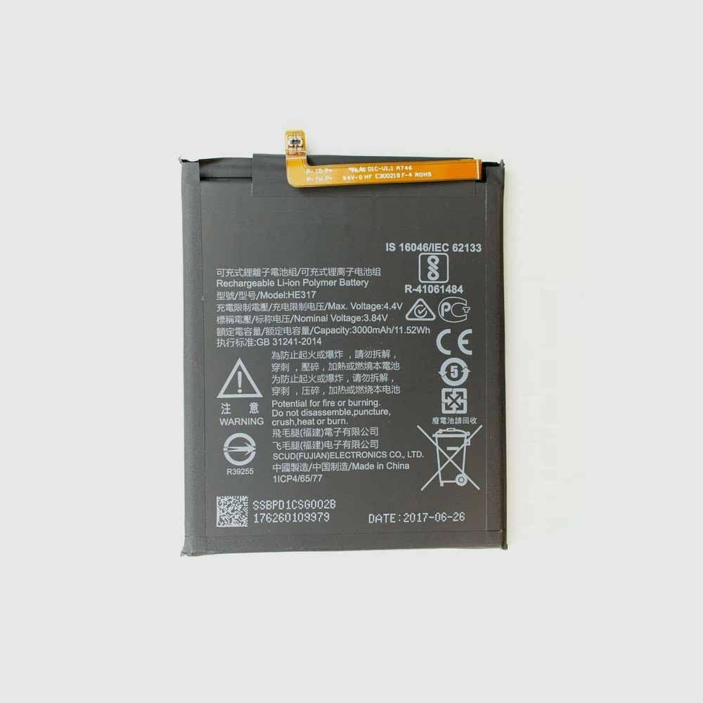 HE317 pc batteria