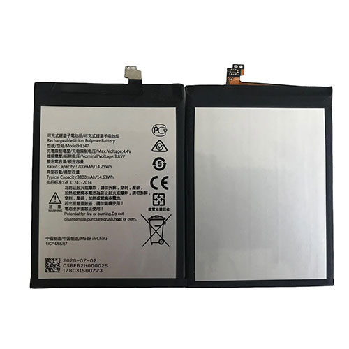 HE347 batteria