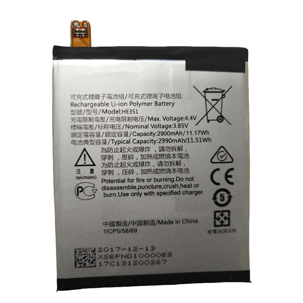 HE351 pc batteria