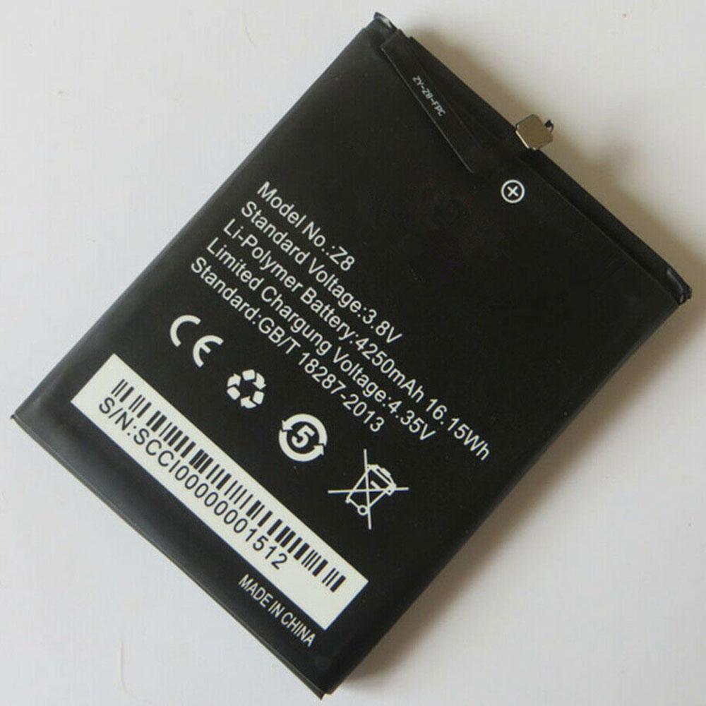 Z8 batteria