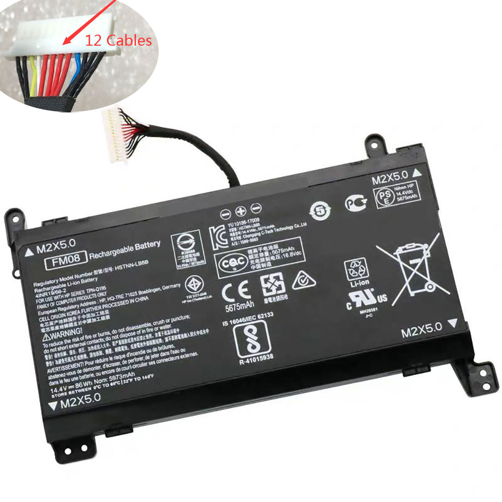FM08 pc batteria