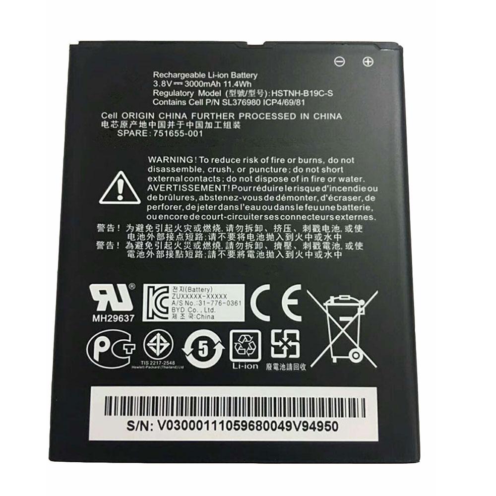 HSTNH-B19C-S pc batteria
