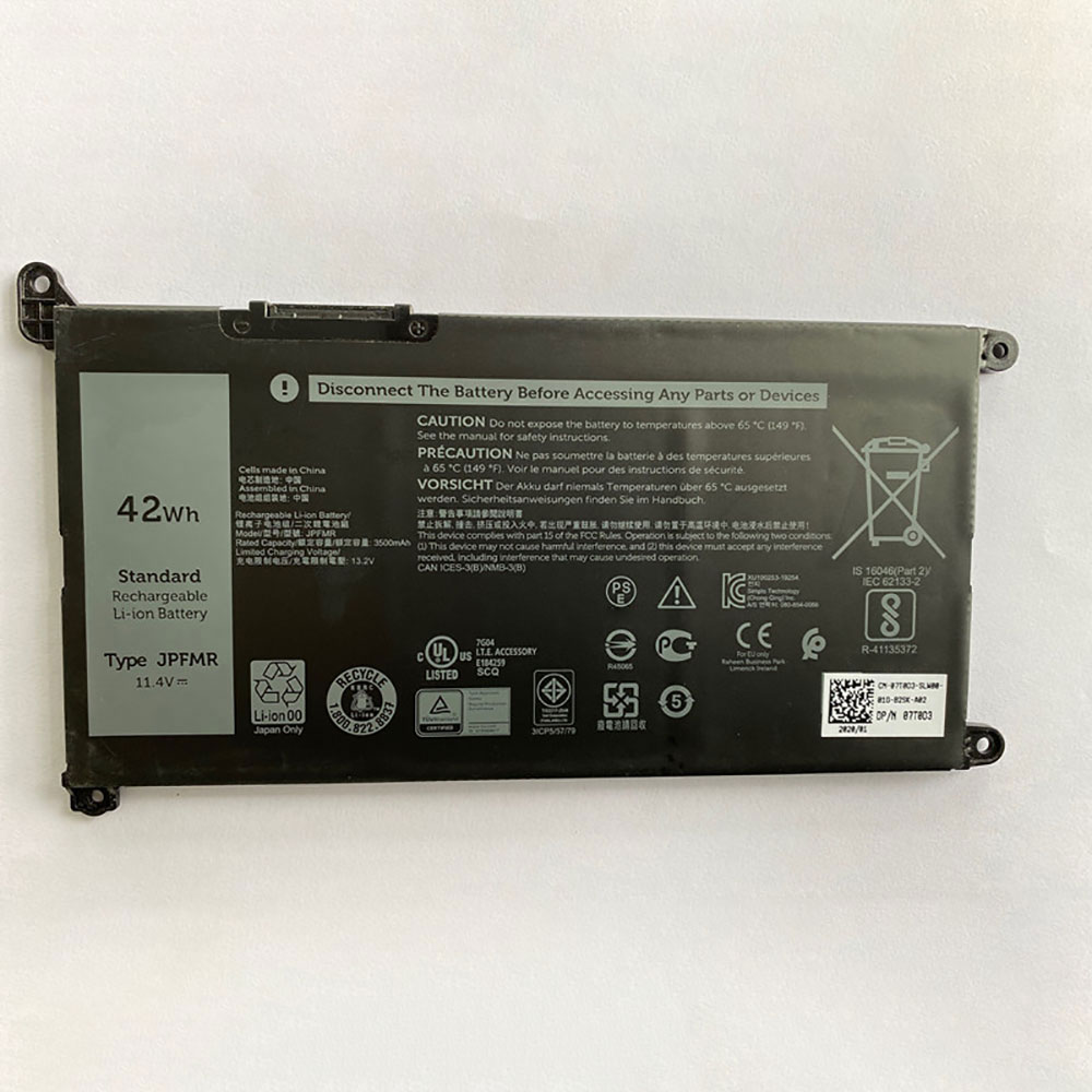 Batterie pour DELL JPFMR