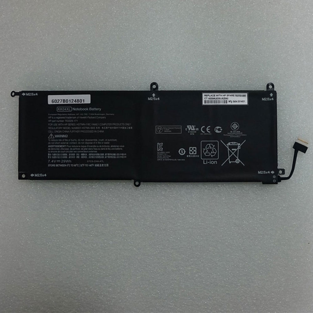 KK04XL pc batteria