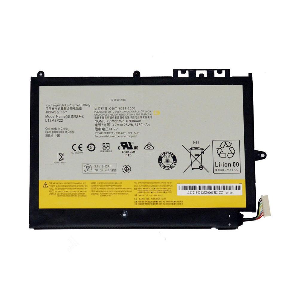 Batterie pour LENOVO L13M2P22