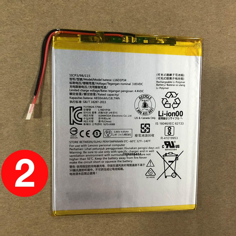 L16D1P34 pc batteria